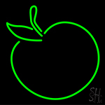 Apple Neon Sign
