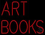 Art Books Neon Sign