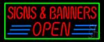 Art Open Neon Sign