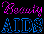 Beauty Aids Neon Sign