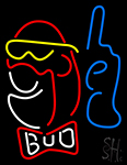 Bud Man New Neon Sign