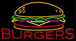 Burgers Neon Sign