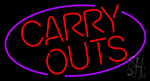 Carry Outs Neon Sign