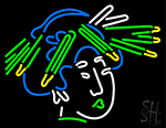 Chinese Multi Color Lady Neon Sign