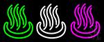 Coffee Air Logo Neon Sign