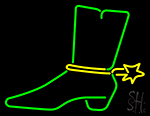 Cowboy Boot Neon Sign