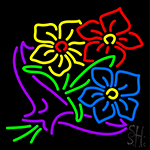 Flower Bouquet Neon Sign