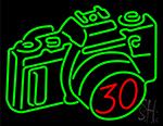 Gigantic Camera Neon Sign