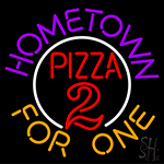 Hometown Pizza Neon Sign