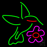 Humming Bird Neon Sign