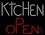 Kitchen Open Neon Sign