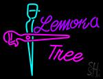 Lemona Tree Logo Neon Sign