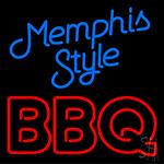 Memphis Style Bbq Neon Sign