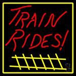 Rail Runner Adventure Neon Sign