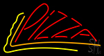 Red Pizza LED Neon Sign