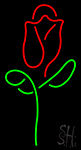 Red Rose Neon Sign