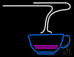 Tea Cup With Air Neon Sign