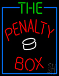 The Penalty Box Neon Sign
