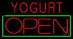 Yogurt Open Neon Sign