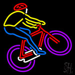 Bicycle Racer Neon Sign