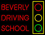 Beverly Driving School Neon Sign