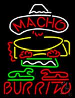 Burrito Logo Neon Sign