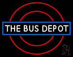 Bus Depot LED Neon Sign