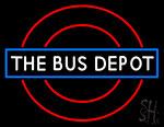 Bus Depot Neon Sign