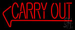 Carry Out Neon Sign