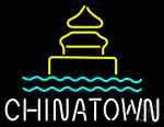 Chinatown Logo Neon Sign