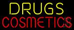 Drugs Cosmetics Neon Sign