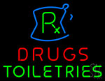 Drugs Toiletries Rx Neon Sign
