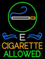 E Cigarette Allowed Neon Sign