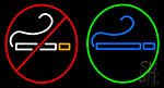 E Cigarettes Logo Neon Sign