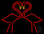 Egret Logo Neon Sign