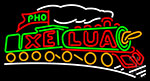 Electric Light Train Neon Sign
