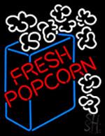 Fresh Popcorn Neon Sign