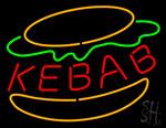 Kebab Burger Neon Sign