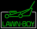 Lawn Boy Logo Neon Sign