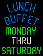 Lunch Buffet Neon Sign