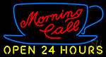 Morning Call Neon Sign