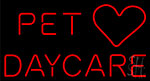 Pet Daycare Neon Sign