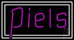 Piles Neon Sign