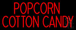 Popcorn Cotton Candy Neon Sign