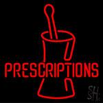 Prescriptions Neon Sign