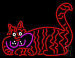 Red Cat Neon Sign
