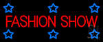 Fashion Show Neon Sign