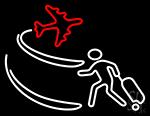 Icon Travel Sahanaiodisha Neon Sign