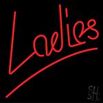 Ladies Neon Sign