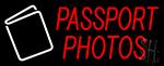 Passport Photos Neon Sign